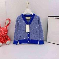2021 Herbst Wintermarke High-End-Kinder-Pullover Jacken Kaschmir Mischmaterial High-End-Mädchen Kleidung Herbst Winter Sweatershirt