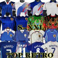 Nakata 2006 Retro Giappone Soccer Jersey Vintage 1994 1998 2000 Soma Akita Okano Kawaguchi 2002 Camicia da calcio classica Kazu Hattori
