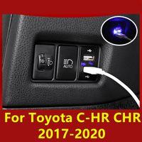 Pour TOYOTA C-HRR CHR 2017-2020 VOYURE USB MODULE MODURE DE SOCKET USB Accessoires décoratifs modifiés