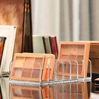 Storage Boxes & Bins Seven Grid Clear Eyeshadow Tray Powder Box Make Up Organizer Cosmetics Rack Multi-Layer Acrylic Makeup