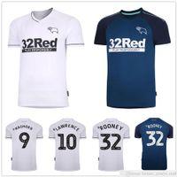 Man + Kids Kit 20 21 Derby County Soccer Jerseys 44 Huddlest 2020 2021 Marriott 10 Lawrence Waghorn Dowell Buchanan 32 Rooney Football Shirt
