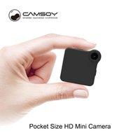 Kameralar C1 + WIFI IP Mini Kamera 720 P HD Mikro H.264 Hareket Algılama Vücut Kablosuz DV Video Sesli Kamera