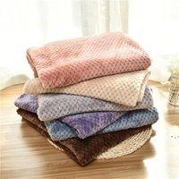 Manta de mascotas Pequeña toalla de toalla Calentador suave Mantas encantadoras Camas Cojín de alta calidad Cubierta de manta de perro OWB5438