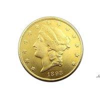 Artes y oficios Estados Unidos de América 1893 Veinte Dólares Monedas de oro conmemorativas Suministros de colección de monedas de cobre