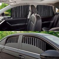 4 adet Perdeler Manyetik Kurulum Araba Cam Güneşlik Perdesi Yan Pencere UV Koruma