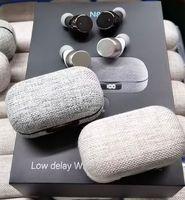 Yeni N80 Bluetooth 5.0 Stereo Gerçek Kablosuz Dokunmatik Anahtar Kumaş Desen Su Geçirmez Kulak Kulaklık Dijital Ekran Kablosuz Spor Dokunmatik Stereo