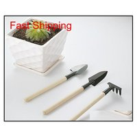 3pcs / Set Enfants Mini Compact Plein Garden Tool Tool Tool Tool, Spade Shovel Qylnlg Toys2010
