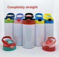 승화 12oz 흩어져있는 텀블러 sippy 컵 스테인레스 스틸 어린이 병 밀짚 컵 아이를위한 좋은 품질