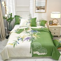 Утешители Утешителя Yovepii Длинные скобки 100% Хлопок бросают одеяло Летнее Лоскутное одеяло Китайский стиль Домашняя кровать Белье Печатная наволочка