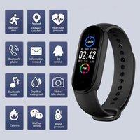 M5 Smart Band IP67 Wasserdichte Sport Smart Uhr Männer Frau Blutdruck Herzfrequenz Monitor Fitness Armband für Android ios