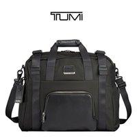 Tumi 232658 баллистический нейлон дорожная сумка мужская мода бизнес-досуг компьютерный портфель сумка