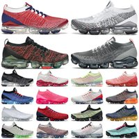 air vapormax 3.0 chaussures de course pour hommes baskets pour femmes Iron Grey Gum Oreo USA Ember Glow Zebra Triple Pink Photo Blue baskets pour hommes sports de plein air