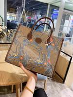 حقيبة تسوق واحدة الكتف المنحدر رسول الجلود المحمولة حقائب الكمبيوتر حقائب المحافظ حقائب النساء حقائب اليد طباعة الكرتون حقيبة