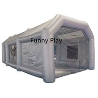 Tents And Shelters Inflatable Spray Tent Outdoor Paint Booth For Car Spraying Portable