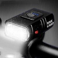 Bike Lights Cycling Bicycle Safety Warning Light Taillight Headlight USB Charging Waterproof Shockproof Lamp JC