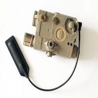 Tactical Gun Lights AN PEQ-15 UHP Red Dot IR Laser Sight White LED Flashlight FMA PEQ Battery Box For Hunting