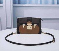 Mode Taschen Clutch Luxus Muster Geldbörse Schulterblume M43596 Kofferraum Handtasche Designer Kette Designer Gurt Crossbody Frauen L Bags TMOOX