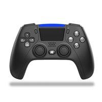PS5 PS4 충격 제어기 용 무선 블루투스 컨트롤러 조이스틱 게임 패드 게임 컨트롤러 패키지 빠른 배송