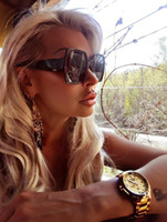 Luxury fashion Women Sunglasses large square Sunglasses 6 color to choose High quality with box Free shipping