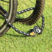 Bike Locks Foldable Lock MTB Road Bicycle Hamburg High Security Anti-Theft Scooter Electric E-Bike Cycling Chain