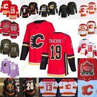 Custom Calgary Flames Ice Hockey Jersey David Rittich Buddy Robinson Derek Ryan Dominik Simon Christopher Tanev Juuso Valimaki Zac Rinaldo