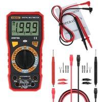 Küchenarmaturen An819A Digital Multimeter AC DC Stress Spannungskapazität Widerstand Diode Tester Live Line Messung + 16 in 1 Multifun