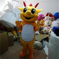 Adult Size Dragon Mascot Costumes Halloween Fancy Party Dress Cartoon Character Carnival Xmas Easter Advertising Birthday Party Costume Outfit