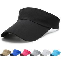 Beanies Summer Unisex Breathable Empty Top Sun Visor Hat Linen Big Wide Brim Straw Caps UV Protection For Men And Women