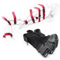 7ピースナイロンボディボンディングベルト手錠テープ手拘束袖口バンドストリップセットアダルトゲームSMセックスグリーズ夫婦男性Y201118