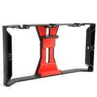 Video Camera Cage Stabilisateur Film Faire une plate-forme pour téléphone intelligent Vidéo Platefile Mobile Teil Porte-support Stabilisateur