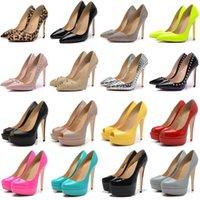 2021 tacón de tacón alto vestido zapatos estilos fondos rojos para mujer tacones de aguja 8 10 12 cm cuero genuino punteado punteado punta de punta de punta para mocasines tamaño de goma 35-42