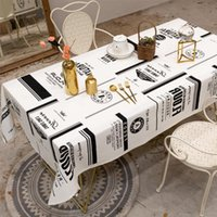 Table Cloth Tablecloth Linen Cotton Northern Europe Style Dining Cover Furniture Decoration Room Decor Aesthetic