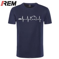 REM NIEUWE COOL T-shirt T-shirt Japan Motorfietsen Heartbeat GSXR 1000 750 600 K7 210301