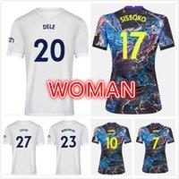 Kadın 21 22 Tottenham Balya Futbol Formaları Reguilon Spurs Futbol Gömlek 2021 2022 Üst Kitleri Kane Dele Camiseta De Futbol Son Maillot Ayak