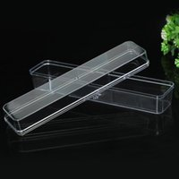 Ly Clear Plastic Box With Lid Rectangular Organizers 3. 5*17*...