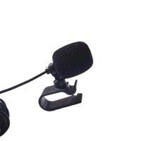 المهنيين سيارة الصوت ميكروفون 3.5 ملليمتر جاك التوصيل مايكروفون ستيريو مصغرة سلكية ميكروفون خارجي ل راديو السيارات دي في دي 3 متر
