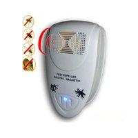 New100pcs الإلكترونية بالموجات الفئران الفأرة طارد مكافحة البعوض مبيد القاتل القوارض الآفات علة رفض mole الفئران EWD7814