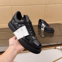 2021 Mükemmel Runner Kamuflaj Deri Sneakers Erkekler, Kadınlar Luxe Moda Stil Kaya Çiviler Açık Camustars Eğitmenler Rahat Ayakkabılar