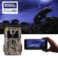 WIFI-App Bluetooth-Kontroll-Pfad-Kamera-Live-Show wilde Jagdkameras WIFI900 20MP 1296P Nachtsicht Wildlife-Überwachungscam