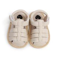 Baby First Walkers Обувь Малыш Девушки Сандалии Летние Мальчики Обувь Детская Новорожденная Обувь Мокасины Мягкая прогулка B6928