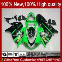 Carening Glossy Green Kit per Suzuki Srad TL1000R TL-1000R 1998 1999 2000 2001 2002 2003 19hc.78 TL-1000 TL 1000 R 98-03 Bodywork TL 1000R TL1000 R 98 99 00 01 02 03 Corpo OEM