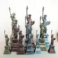 SMEI Iron Metal-Statue des Liberty-Modells, 15-30 cm, kreative Möblierung, handgefertigte Verzierung, für Weihnachtskind-Geburtstagsgeschenk, Sammeln, 2-2