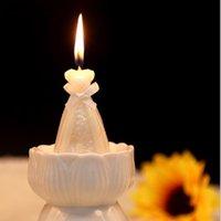 Party Decoration 10pcs Wedding Bride Dress Candle Favor Gifts For Guest Souvenirs