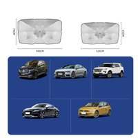 Protable Car Sun Shade Protector Umbrella Parasol Auto Front Window Sunshade Covers Interior Windshield Protection Accessories TE0005