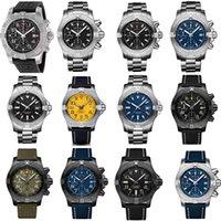 New fashion Super Avenger II 1884 designer watch mans watch automatic watch mechanical quartz movement full working luxury watches WHK7#