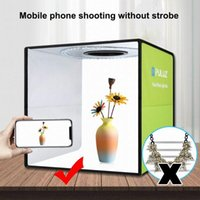 20 * 20 cm Mini vouwstudio diffuse soft box lightbox met led licht 6 achtergronden fotografie achtergrond foto studio box