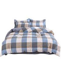 مجموعات الفراش 2021 القطن النوم مجموعة أغطية السرير الفاخرة التوأم كامل الملكة الملك حاف الغطاء السرير ورقة سادة الكبار
