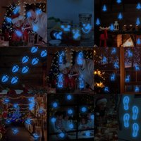 Wall Stickers Luminous Deer For Kids Rooms Bedroom Decor Decals Christmas Decoration Window Tree Glow In The Dark