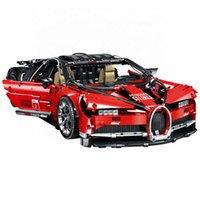 2020 Newest 3618 PCS Bugatti Veyron Bloque de automóviles de gran tamaño DIY inteligencia ensamblado Bloque de construcción Técnica de juguetes