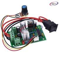 Circuiti integrati DC 6-30 V 6A Controllore a velocità motore Reversibile PWM Control Avanti / Interruttore retromarcia 6V-30V Max 10A Modulo 12V 24V